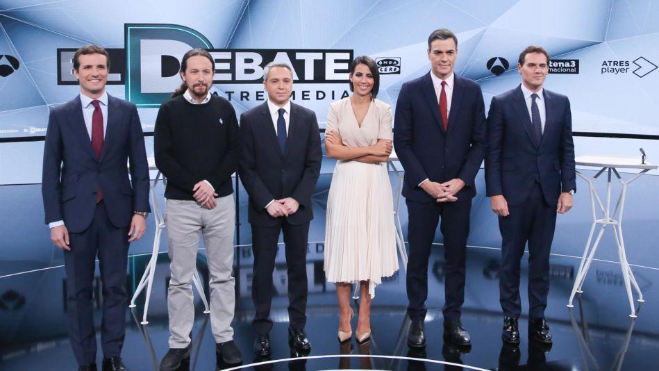 ¿Cuánto mide Vicente Vallés? - Altura Debate-Atresmedia-949x534